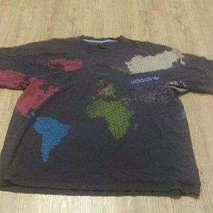 Adidas Grun World Cup 2009 Print T-Shirt Large
